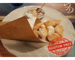 Coccoli con la nutella-Gluten Free